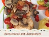 Putenschnitzel mit Pilzen